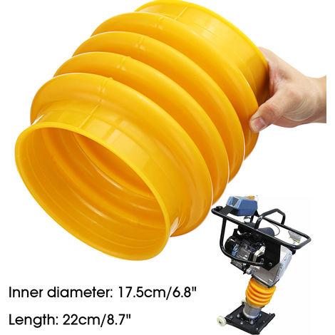 Bota de fuelle de salto Jack Yellow 17.5cm Dia.Para manipulador compactador Wacker Rammer