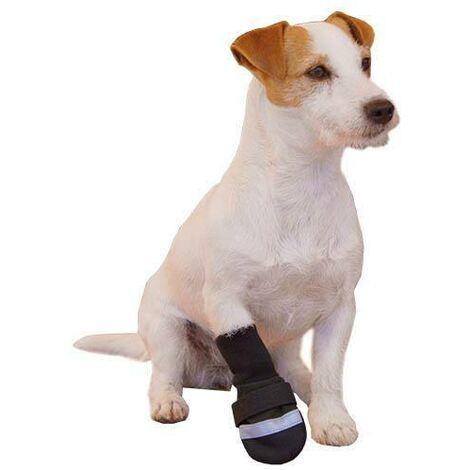 Botas para perros Ibáñez Rainout de color negro, disponible en varias tallas.