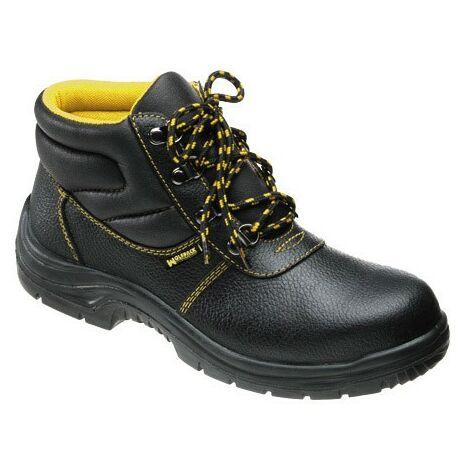 Botas seguridad piel negra wolfpack nº 45 (par)