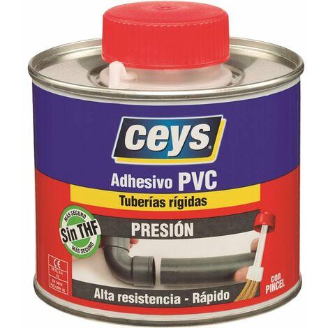 Bote 500 ml adhesivo Ceys pvc presion tapón pincel