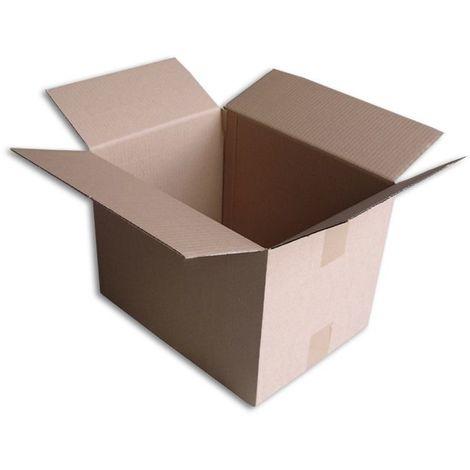 Lot de 5 Boîtes carton (N°46A) format 350x260x250 mm