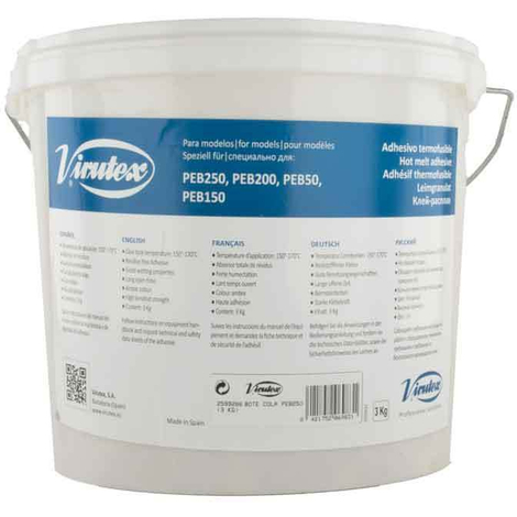 Bote de cola termo-fusible Virutex