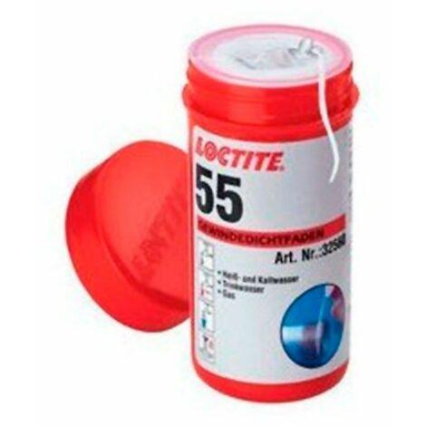 Bote hilo sellador de roscas 150ml Loctite 55