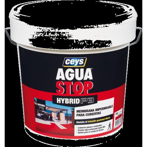 Bote Impermeabilizante Agua Stop Hybrid P3 Ceys