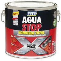 Bote Pintura Impermeabilizante Aguastop Barrera Total Gris 1 kg Ceys