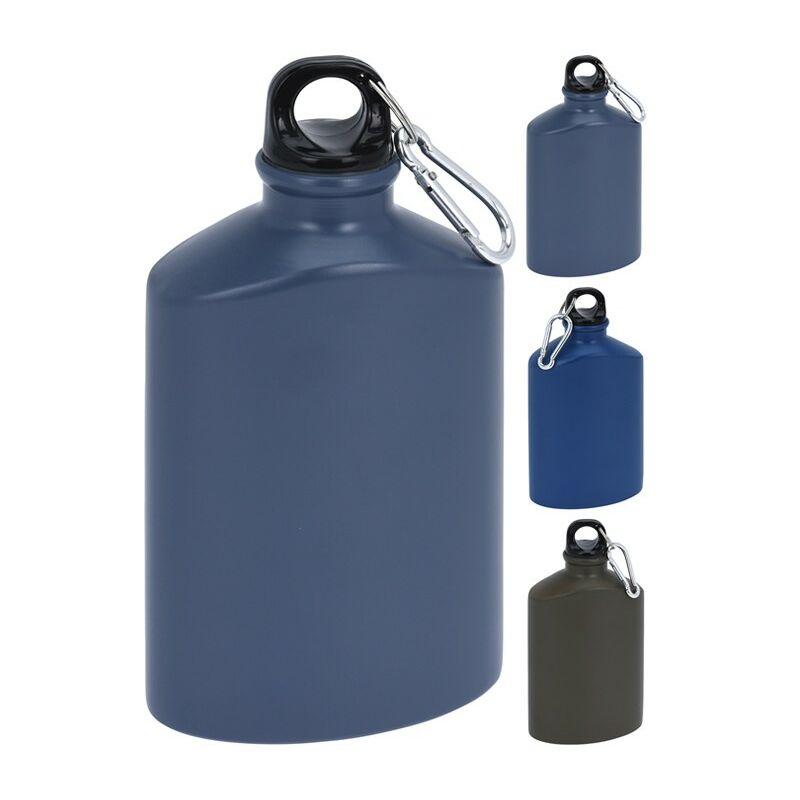 Botella aluminio 0,5 l tapon mosqueton - REDCLIFFS