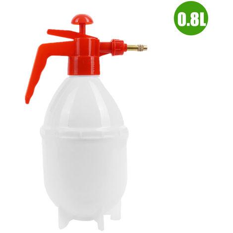 Botella de spray manual de 0.8L, tipo neumatico, para limpieza y jardineria