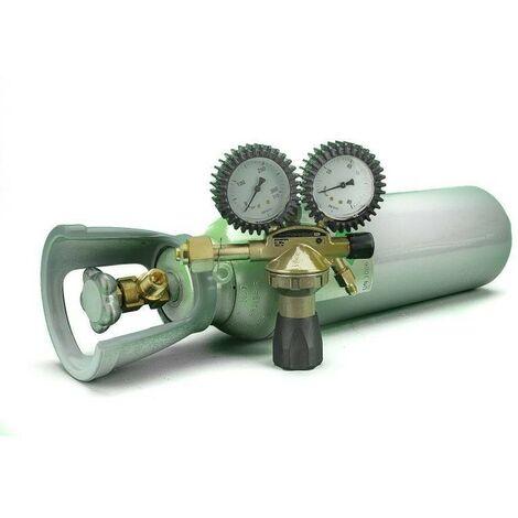 Botella Nitrogeno Seco 5 Litros + Manorreductor Alta Presion