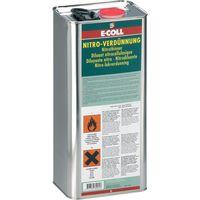 Botes de dilución nitro 6L E-COLL