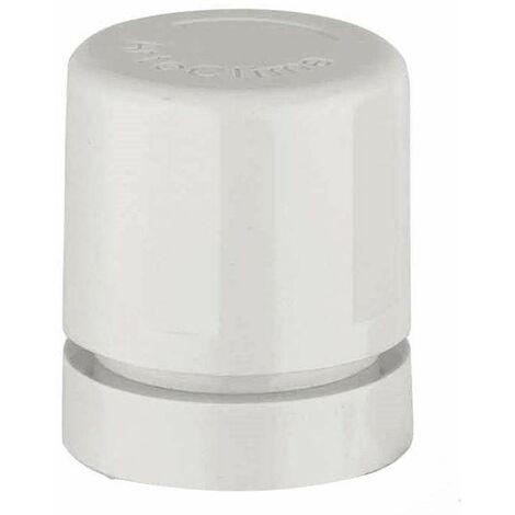 Botón blanco para válvulas termostáticas Arteclima 3160BB | Blanco