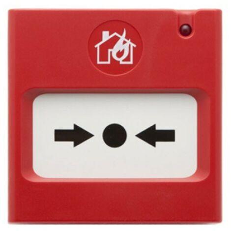 Botón de alarma de incendio Comelit manual convencional