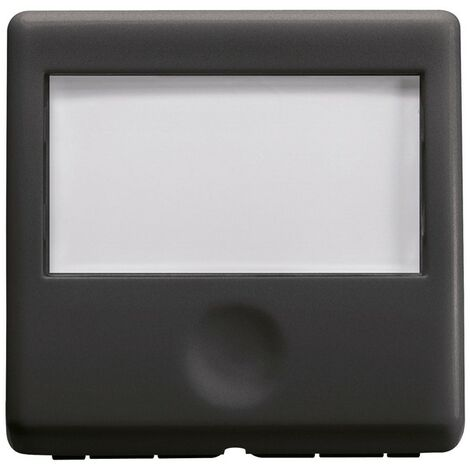 Botón de Gewiss sistema rotativo negro 2 módulos GW21591