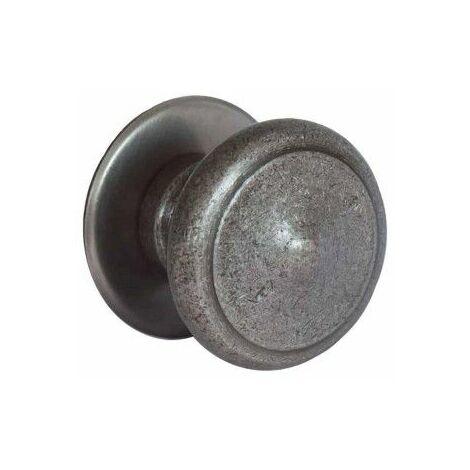 Botón rústico - acabado en hierro patinado