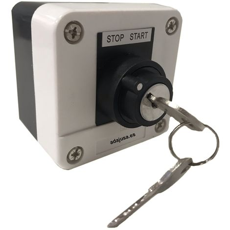 Botones de parada de emergencia