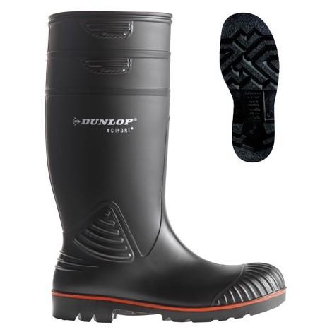 Botte de sécurité Dunlop ACIFORT S5 SRA Noir 46