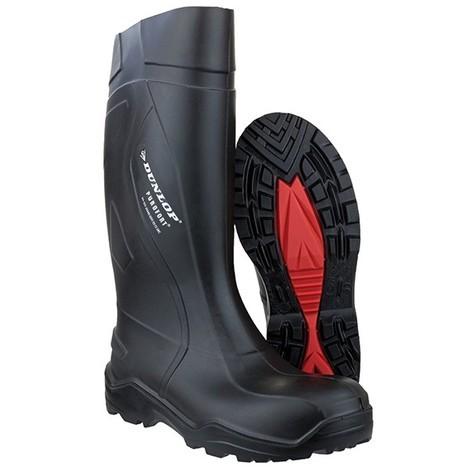 Botte de sécurité Dunlop Purofort+,S5 CI SRC, Taille 39,noir