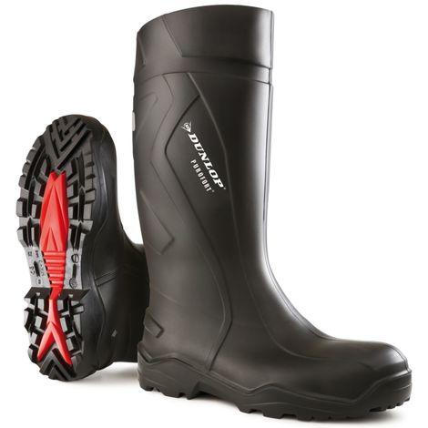 Botte de sécurité Dunlop Purofort+,S5 CI SRC, Taille 40,noir
