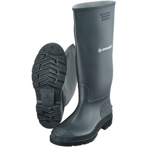 Botte de travail PVC Dunlop Pricemastor Taille 47, noir