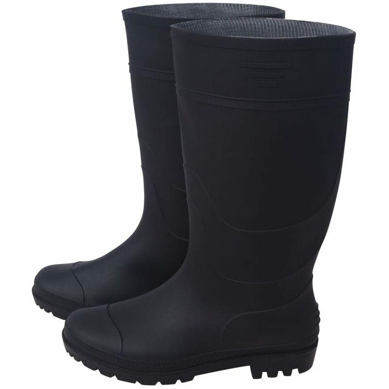 Bottes de pluie Pointure 44 Noir