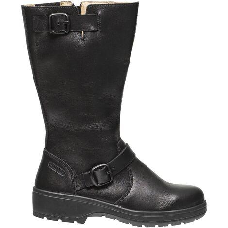Bottes de sécurité noir en cuir - Parade Delia - Norme S3 - Femme