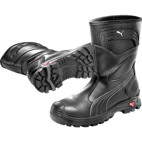 chaussures de séparation 02418 d2379 Bottes de sécurité Puma Rigger Boot Black S3 WR CI SRC Noir