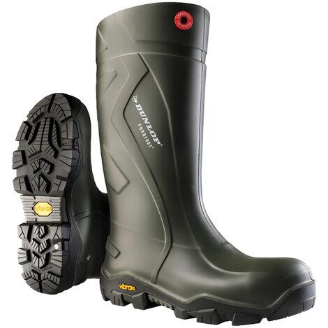 Dunlop Bottes en caoutchouc Dull tailles-37,Vert