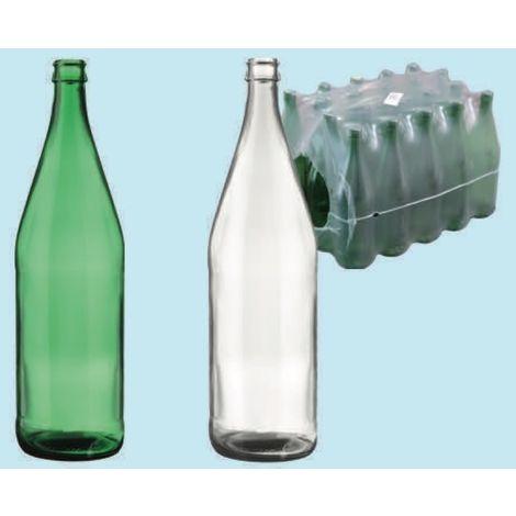 Bottiglie Bottiglia Di Vetro Verde Minerale Lt.1 Pezzi 20