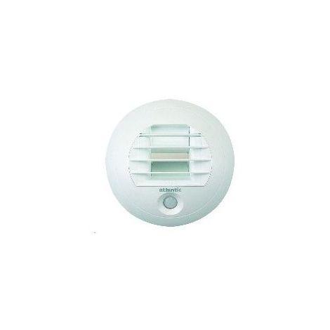 Bouche BAW pour WC à pile pour vmc hygro 5/30 526393 - Blanc - 125 mm