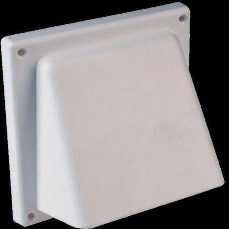 Bouche daération avec clapet anti-retour Wallair N34810 12.5 cm plastique