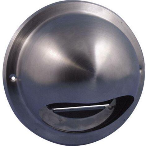 Bouche daération Wallair N34835 10 cm acier inoxydable