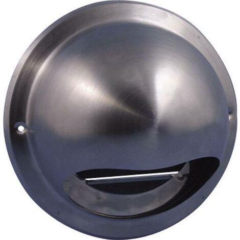 Bouche d'aération Wallair N34835 10 cm acier inoxydable S85777
