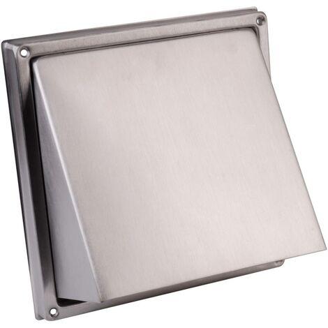 Bouche daération Wallair NW 100 10 cm acier inoxydable