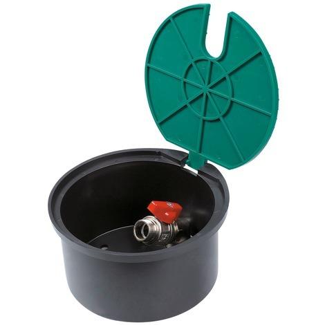 Bouche d'arrosage Cap Vert - Filetage 20 x 27 mm