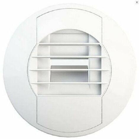 Bouche d'extraction hygroréglable BEHS 5-40 - Salle de bains - ø 125mm - 5 à 40 m³/h - Commande autorégulée