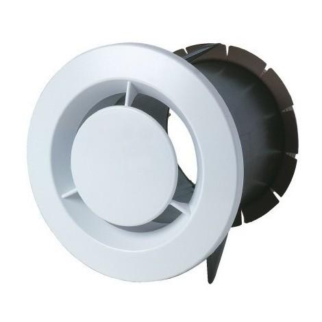 Bouche d'extraction ronde manchon plaque de platre sanitaire 80