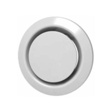 Bouche extraction et insufflation plastique ronde réglable