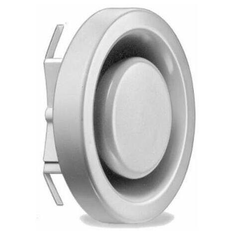 Bouche extraction réglable métal D125 - MTVA 125 HELIOS VENTILATEURS - 8870 Diamètre 125 mm