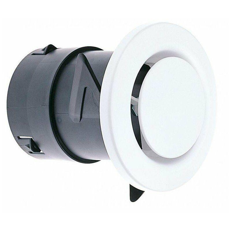 bouche vmc diametre 80 fixe pb 80 np atlantic 422147. Black Bedroom Furniture Sets. Home Design Ideas