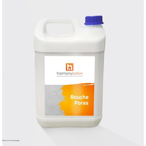 Bouche-pores hydrofuge pour béton - Bouche Pores - 4 x 5L - Harmony Béton