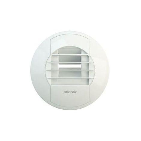 Bouche vmc BAW pour WC manuelle pour vmc hygro 5/30 - Blanc - 125 mm - Blanc