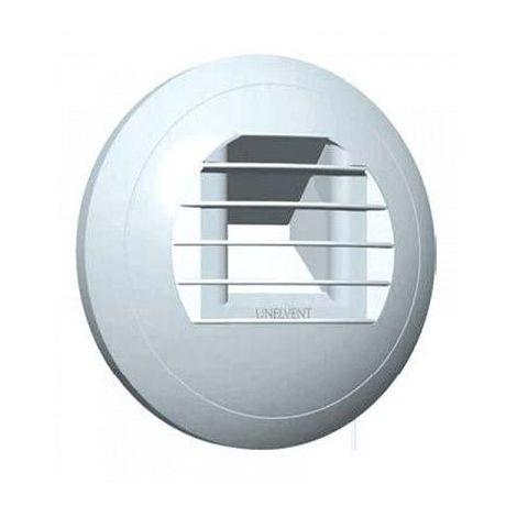 Bouche VMC Hygro - Cuisine - BEHC6-40/90 - Commande manuelle Unelvent 851669 - Blanc