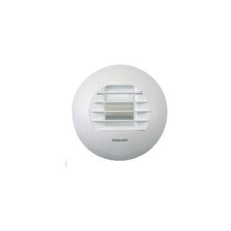 Bouche vmc pour WC électrique hygro BAW 5-30EB 125L Atlantic 526396 - Blanc - 125 mm - Blanc