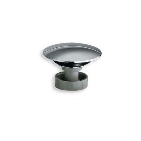 BOUCHON ABS BONDE ECOULEMENT LIBRE D.72 mm CHROME - CRISTINA ONDYNA WR00351