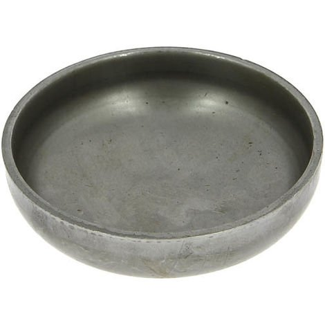 Bouchon acier arrondi à souder - Ø 88,9 mm - Virfollet & cie