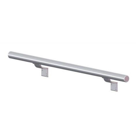 Bouchon aluminium 401 B finition laqué blanc RAL 9010 pour main courante aluminium 540 S