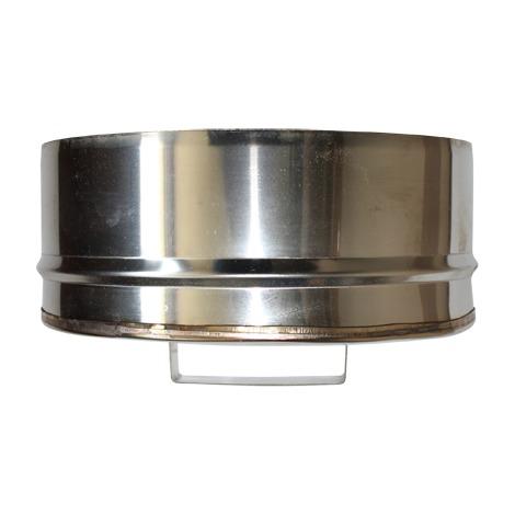 Bouchon de condensation étanche double paroi - Ø int/ext: 100-150