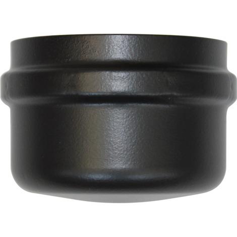 Bouchon de condensation noir femelle - Ø 80