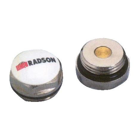 Bouchon de radiateur plein Radson pour panneau Acier 15x21