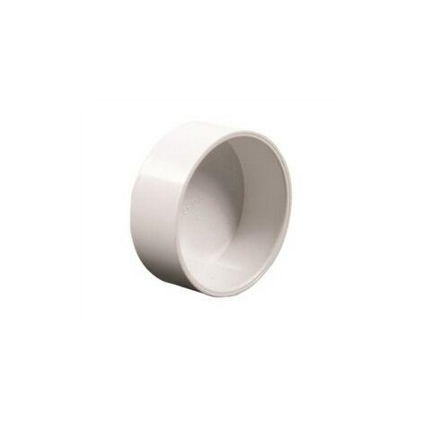 Bouchon de visite en pvc blanc - diamètre 50,8 mm
