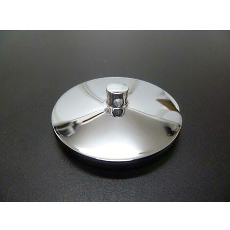 Bouchon d'évier/bidet/baignoire Standard Metalic Chrome Saneaplast 750892
